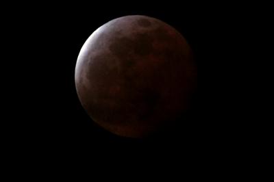 soku_32486.jpg :: 2015年4月4日 風景 自然 天体 月 皆既月食 by Niigata