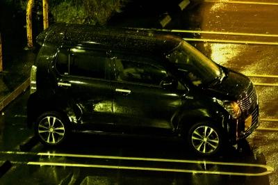 soku_32508.jpg :: EOS 20D ISO3200 風景 街並み 駐車場 軽自動車 夜景