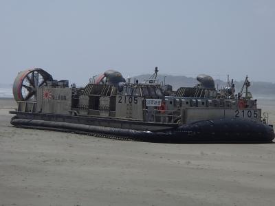 soku_32538.jpg :: 海上自衛隊 ホバークラフト LCAC.2105 エアクッション艇5号