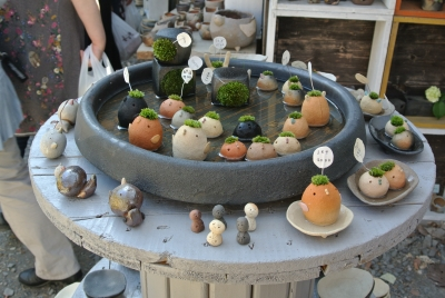 soku_32599.jpg :: 栃木県 益子焼 アート 工芸品 伝統工芸 陶磁器