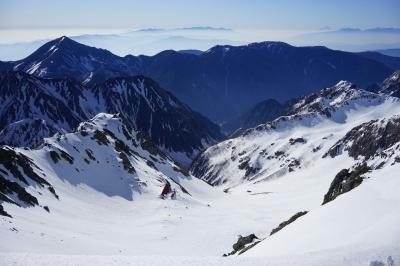 soku_32602.jpg :: 槍ヶ岳 風景 自然 雪景色 雪山