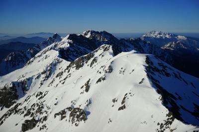 soku_32603.jpg :: 槍ヶ岳 風景 自然 雪景色 雪山