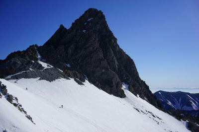 soku_32604.jpg :: 槍ヶ岳 風景 自然 雪景色 雪山