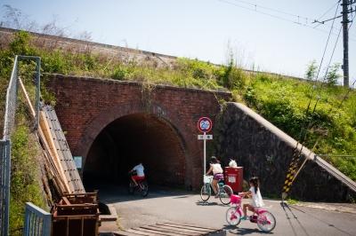 soku_32626.jpg :: 乗り物 交通 道路 トンネル アンダーパス