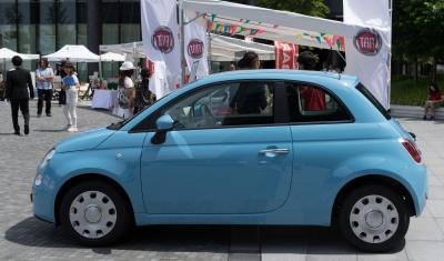 soku_32764.jpg :: 乗り物 輸入車 自動車 イタリア FIAT 大阪 梅田