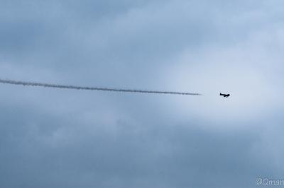 soku_32805.jpg :: 風景 自然 空 飛行機雲