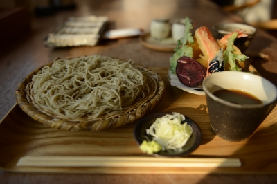 soku_32908.jpg :: D800E 蕎麦 食べ物 麺類 蕎麦 そば 天ぷらそば 定食