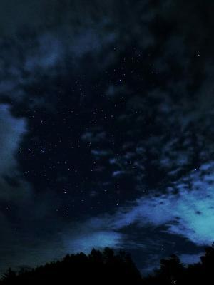 soku_32936.jpg :: 風景 自然 空 星空 雲