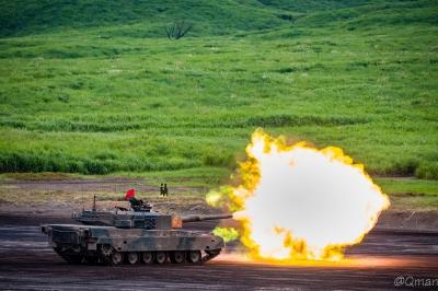 soku_32947.jpg :: 90式戦車 戦車 総火演 陸上自衛隊 富士総合火力演習