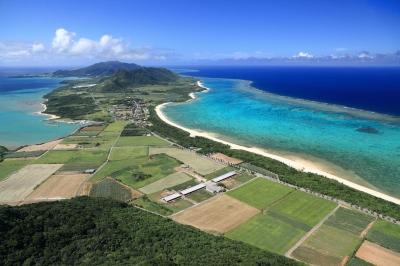 soku_32949.jpg :: 石垣島 風景 自然 海 海岸 田畑