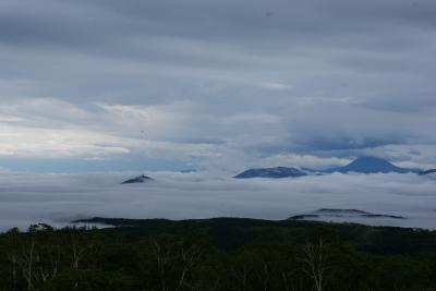 soku_32962.jpg :: 摩周湖展望台 雲海 風景 自然 空 雲
