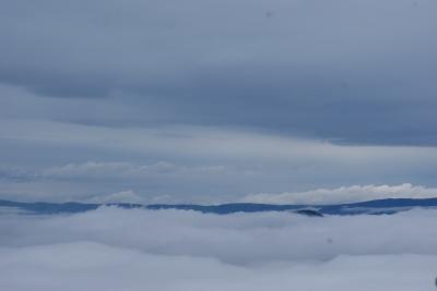 soku_32963.jpg :: 摩周湖展望台 雲海 風景 自然 空 雲