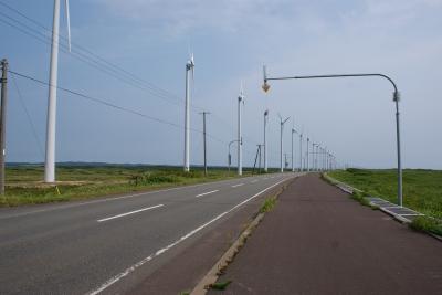 soku_32967.jpg :: オロロンラインの例のアレ 建築 建造物 風車 風力発電
