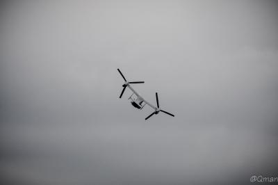 soku_32972.jpg :: オスプレイ MV.22 航空機 総火演 陸上自衛隊 富士総合火力演習