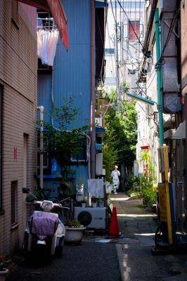 soku_32987.jpg :: 風景 街並み 都市の風景 路地裏
