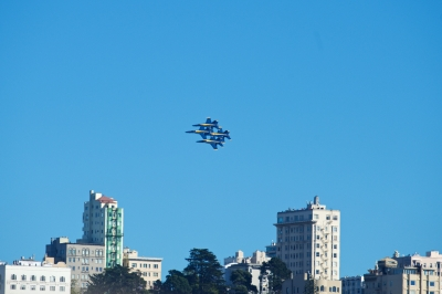 soku_33073.jpg :: 乗り物 交通 航空機 飛行機 軍用機 サンフランシスコ Fleet Week エアショー ブルーエンジェルス