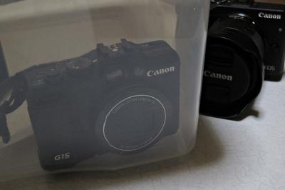 soku_33087.jpg :: カメラ機材 カメラ 防湿庫 canon PowerShotG15