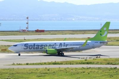 soku_33108.jpg :: 1115 乗り物 交通 航空機 飛行機 旅客機 KIX 関西国際空港