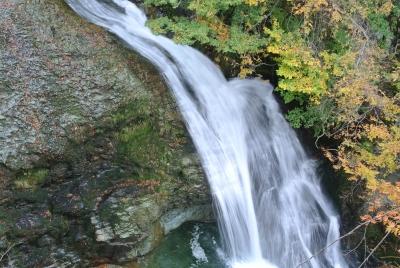 soku_33148.jpg :: 風景 自然 紅葉 滝
