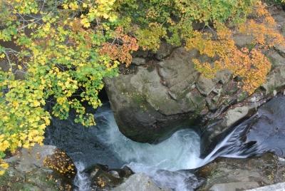 soku_33150.jpg :: 風景 自然 紅葉 滝
