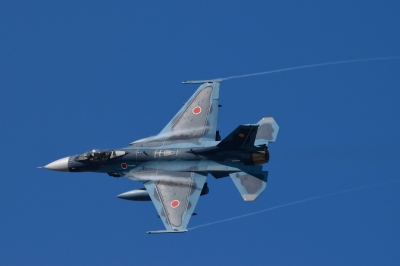 soku_33158.jpg :: 乗り物 交通 航空機 飛行機 軍用機 支援戦闘機 F-2A