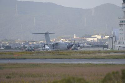 soku_33168.jpg :: 乗り物 交通 航空機 飛行機 軍用機 Airbus A.400M 輸送機