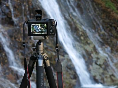 soku_33180.jpg :: カメラ機材 カメラ 三脚 EOS M3 電子ビューファインダー EVF.DC1