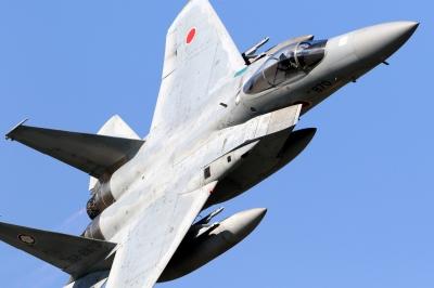 soku_33208.jpg :: デジカメ板 飛行機写真スレ〓第79便〓 平成27年度百里基地航空祭 F-15 飛行機 ヒコーキが足りない by IBR