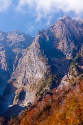 soku_33227.jpg :: 風景 自然 山 岩山 森林 紅葉林
