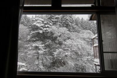 soku_33263.jpg :: 風景 自然 温泉 四万温泉 雪景色 窓から望む