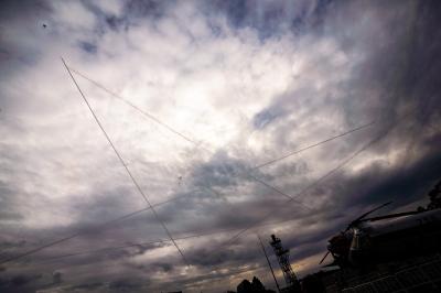 soku_33272.jpg :: 浜松 飛行機 ブルーインパルス T.4 スターアンドクロス