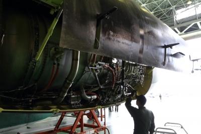soku_33306.jpg :: P&W JT8D エンジン ジェットエンジン
