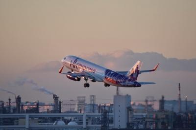soku_33384.jpg :: 乗り物 交通 航空機 飛行機 旅客機
