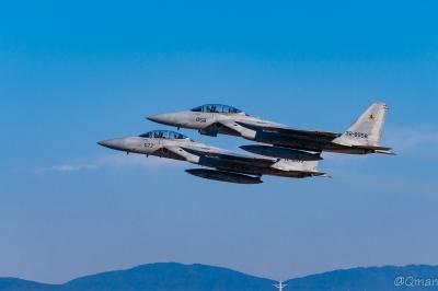 soku_33395.jpg :: 新田原基地 戦闘機 F.15DJ 航空自衛隊 航空機 乗り物 戦闘機