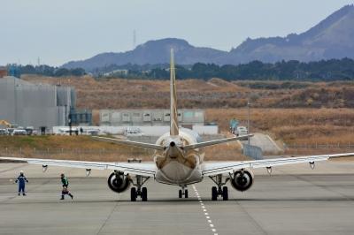 soku_33399.jpg :: 乗り物 交通 航空機 飛行機 旅客機 富士山静岡空港