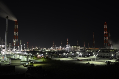 soku_33446.jpg :: 建築 建造物 工場 産業機械 夜景