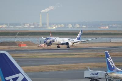 soku_33463.jpg :: 乗り物 交通 航空機 飛行機 旅客機 スターウォーズ R2.D2