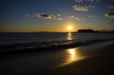soku_33467.jpg :: 風景 自然 空 雲 夕景 海