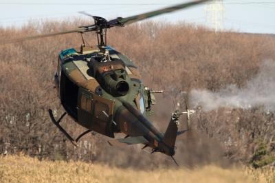 soku_33505.jpg :: 平成28年度 習志野空挺降下訓練始め/UH-1