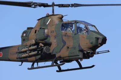 soku_33515.jpg :: 平成28年度 習志野空挺降下訓練始め OH-1 ニンジャ