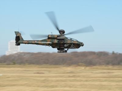 soku_33520.jpg :: 2016年 空挺降下訓練始め AH.64D