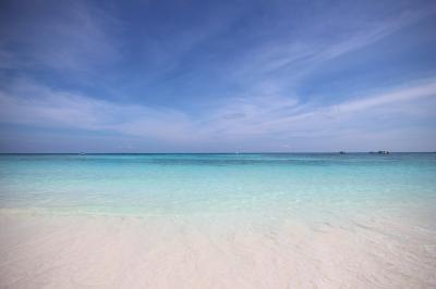 soku_33526.jpg :: 風景 自然 海 ビーチ 砂浜 環礁