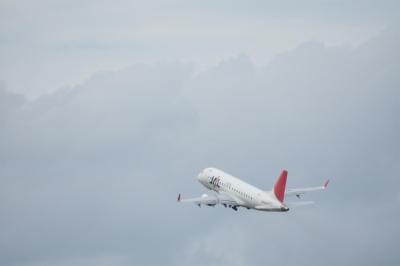 soku_33568.jpg :: 伊丹 ボケ写真1 乗り物 交通 航空機 飛行機 旅客機