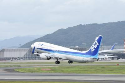 soku_33570.jpg :: 伊丹 ボケ写真3 乗り物 交通 航空機 飛行機 旅客機