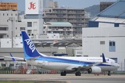 soku_33571.jpg :: 伊丹 ボケ写真4 乗り物 交通 航空機 飛行機 旅客機