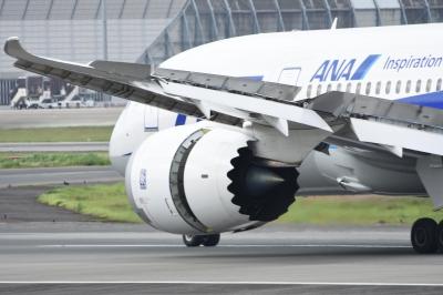 soku_33572.jpg :: 伊丹 ボケ写真5 乗り物 交通 航空機 飛行機 旅客機
