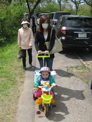 soku_33589.jpg :: 秋田県大森山動物公園 高級三輪車
