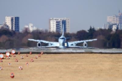 soku_33591.jpg :: 厚木基地/海上自衛隊 P.1 乗り物 交通 航空機 飛行機 軍用機 哨戒機