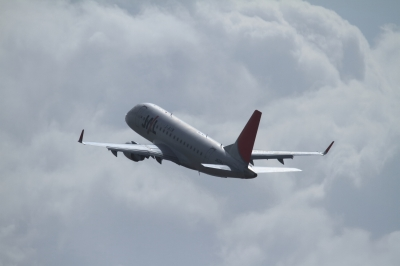 soku_33669.jpg :: JAL E170/HND 乗り物 交通 航空機 飛行機 旅客機