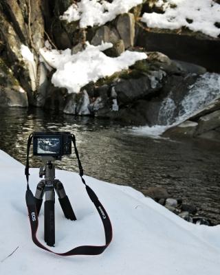 soku_33696.jpg :: PowerShotG15 風景 自然 水分 コンデジ埼玉 渓谷 雪景色